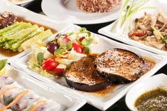 ψωμιού διαφορετικό τροφίμων κλίσεων διάνυσμα τύπων διαφανειών απεικόνισης καθορισμένο Στοκ Φωτογραφία