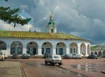 Ψωνίζοντας arcade σε Kostroma, Ρωσία Στοκ εικόνες με δικαίωμα ελεύθερης χρήσης