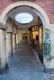 Ψωνίζοντας arcade σε Muenster, Βεστφαλία, Γερμανία Στοκ Φωτογραφίες