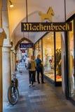 Ψωνίζοντας arcade σε Muenster, Βεστφαλία, Γερμανία Στοκ φωτογραφία με δικαίωμα ελεύθερης χρήσης