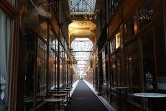 Ψωνίζοντας arcade στο Παρίσι, Passage du Grand Cerf Στοκ φωτογραφία με δικαίωμα ελεύθερης χρήσης