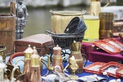 Ψύλλος-αγορά στο Μπρυζ, Βέλγιο Στοκ εικόνα με δικαίωμα ελεύθερης χρήσης