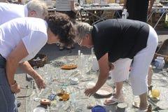 Ψύλλος Anduze Στοκ φωτογραφίες με δικαίωμα ελεύθερης χρήσης