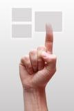 ωθήσεις s ατόμων χεριών κο&upsil Στοκ φωτογραφία με δικαίωμα ελεύθερης χρήσης