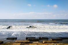 Ωκεάνια άποψη από την παραλία digha στοκ εικόνες με δικαίωμα ελεύθερης χρήσης