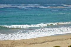 Ωκεάνια άποψη από τον απότομο βράχο Στοκ Εικόνες