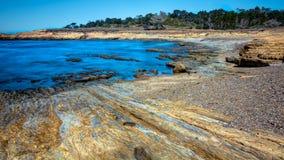 Ωκεάνια άποψη κρατικών πάρκων Lobos σημείου στοκ εικόνα