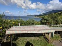 Ωκεάνια άποψη σε St. Kitts στοκ φωτογραφία με δικαίωμα ελεύθερης χρήσης