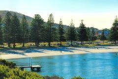 Ωκεάνια άποψη του Άλμπανυ, Αυστραλία στοκ εικόνα με δικαίωμα ελεύθερης χρήσης