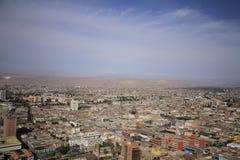 Ωκεάνια άποψη Arica Χιλή Στοκ Εικόνα