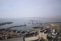 Ωκεάνια άποψη Arica Χιλή Στοκ εικόνα με δικαίωμα ελεύθερης χρήσης