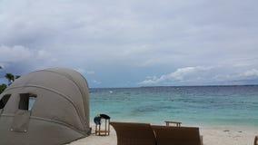 Ωκεάνια άποψη Beachfront στοκ εικόνες με δικαίωμα ελεύθερης χρήσης