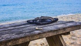 Ωκεάνια άποψη - beachtime Στοκ Εικόνες