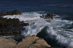 Ωκεάνια ακτή σε Malibu, Καλιφόρνια 4 Στοκ φωτογραφία με δικαίωμα ελεύθερης χρήσης
