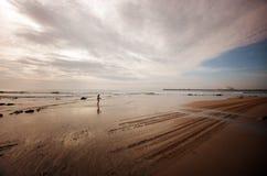 Ωκεάνια ακτή Στοκ Φωτογραφίες