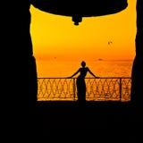 Ωκεάνια γυναίκα Στοκ Εικόνα