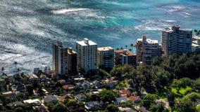 ωκεάνια ειρηνική όψη στοκ εικόνα με δικαίωμα ελεύθερης χρήσης