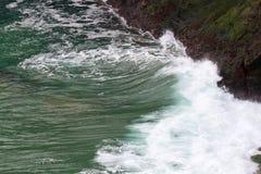 Ωκεάνια κινηματογράφηση σε πρώτο πλάνο Στοκ εικόνα με δικαίωμα ελεύθερης χρήσης