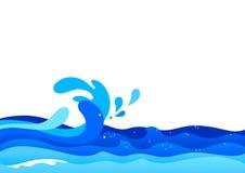 Ωκεάνια κύματα Στοκ Φωτογραφία