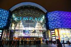 Ωκεάνια λεωφόρος αγορών Plaza σε Kyiv, Ουκρανία Στοκ Φωτογραφίες