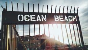 Ωκεάνια παραλία Στοκ Εικόνα