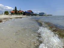 Ωκεάνια παραλία στοκ εικόνα με δικαίωμα ελεύθερης χρήσης