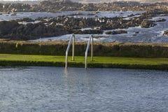 Ωκεάνια πισίνα νερού Στοκ Φωτογραφία