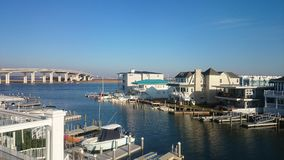 Ωκεάνια πόλη NJ στοκ φωτογραφία