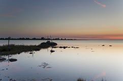 ωκεάνια σκηνή φραγών Στοκ εικόνα με δικαίωμα ελεύθερης χρήσης