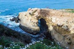 Ωκεάνια σπηλιά Στοκ εικόνες με δικαίωμα ελεύθερης χρήσης