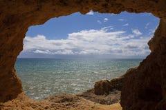 Ωκεάνια σπηλιά Στοκ φωτογραφία με δικαίωμα ελεύθερης χρήσης