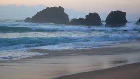 Ωκεάνια φύση νερού κυμάτων φιλμ μικρού μήκους