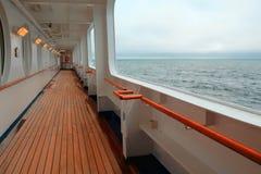 Ωκεάνια όψη από ένα κρουαζιερόπλοιο Στοκ φωτογραφία με δικαίωμα ελεύθερης χρήσης