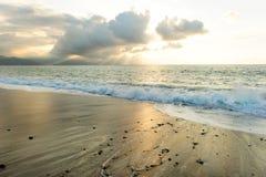Ωκεάνιες ακτίνες ήλιων Στοκ εικόνες με δικαίωμα ελεύθερης χρήσης