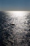 ωκεάνιος ήλιος αντανάκλασης βαρκών Στοκ φωτογραφία με δικαίωμα ελεύθερης χρήσης