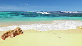 Ωκεάνιος βρόχος παραλιών φιλμ μικρού μήκους