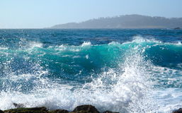 ωκεάνιος παφλασμός Στοκ φωτογραφία με δικαίωμα ελεύθερης χρήσης