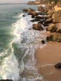 Ωκεάνιος φραγμός βράχου του Μπαλί Στοκ φωτογραφία με δικαίωμα ελεύθερης χρήσης