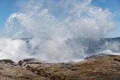 Ωκεάνιος ψεκασμός Στοκ Φωτογραφία