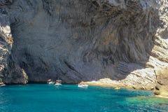 Ωκεάνιος όρμος βουνών τοπίων μαγιορκινός κρυμμένος στοκ εικόνες με δικαίωμα ελεύθερης χρήσης