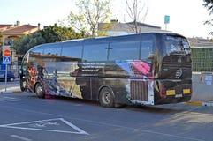 Ωκεάνιο λεωφορείο φυλών της VOLVO Στοκ Φωτογραφία