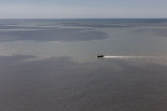 ωκεάνιο διάνυσμα σκαφών απεικόνισης Στοκ Εικόνες