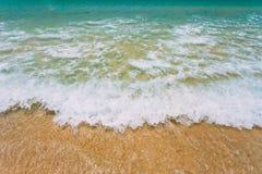 Ωκεάνιο κύμα θάλασσας Υπόβαθρο ρέοντας νερού Στοκ φωτογραφία με δικαίωμα ελεύθερης χρήσης