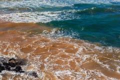 Ωκεάνιο μπλε νερού ρύπανσης βιομηχανικό στοκ εικόνα