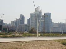 Ωκεάνιο νερό ακτών οικοδόμησης του Λιβάνου Βηρυττός στο κέντρο της πόλης ωκεάνιο στοκ φωτογραφία με δικαίωμα ελεύθερης χρήσης