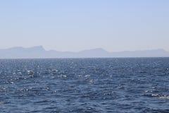 Ωκεάνιο τοπίο της Misty Στοκ εικόνα με δικαίωμα ελεύθερης χρήσης