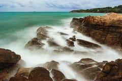 Ωκεάνιο λυκόφως Koh Samet, Ταϊλάνδη Στοκ φωτογραφίες με δικαίωμα ελεύθερης χρήσης