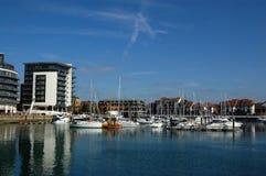 ωκεάνιο χωριό Southampton Στοκ εικόνες με δικαίωμα ελεύθερης χρήσης