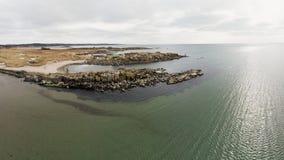 ωκεάνιο ύδωρ όψης ουρανού σύννεφων Στοκ φωτογραφίες με δικαίωμα ελεύθερης χρήσης