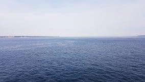 ωκεάνιο ύδωρ όψης ουρανού σύννεφων στοκ εικόνα